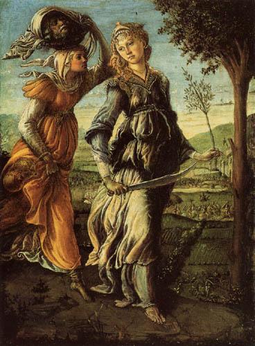 Sandro Botticelli - Rückkehr der Judith nach Bethulia