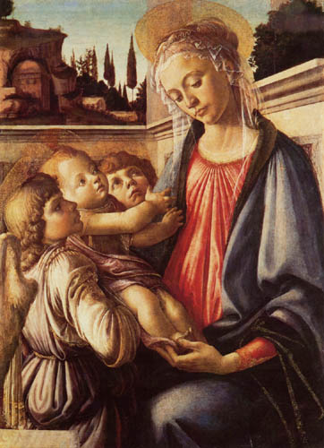 Sandro Botticelli - Madona con Niño