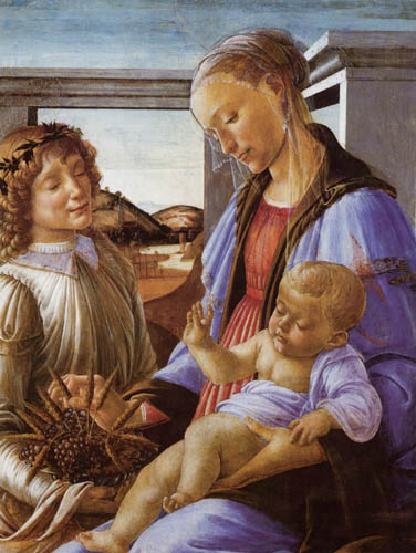Sandro Botticelli - Madonna of the Eucharist