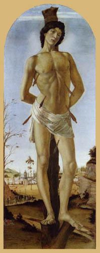 Sandro Botticelli - Der hl. Sebastian