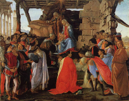 Sandro Botticelli - Adoration of the holy kings