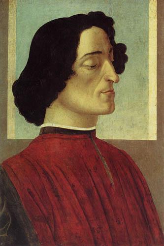 Sandro Botticelli - Giuliano de Medici