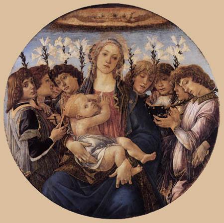 Sandro Botticelli - Madonna with child
