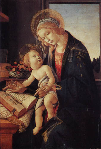 Sandro Botticelli - Madonna with the book