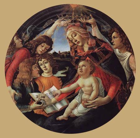 Sandro Botticelli - Madonna mit dem Kind