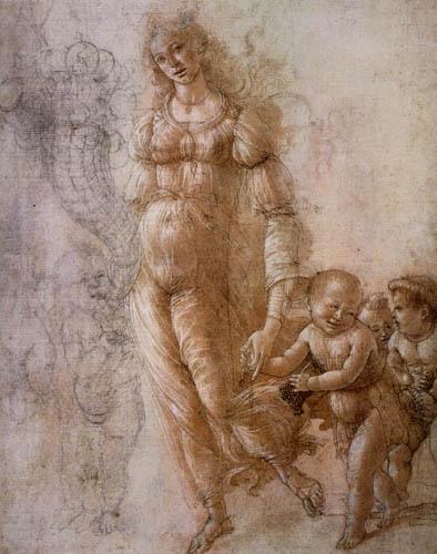 Sandro Botticelli - Allegorie of the abundance