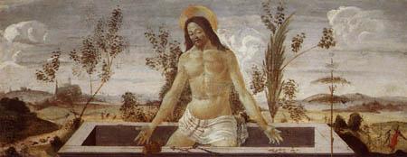 Sandro Botticelli - Varón de dolores