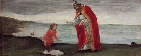 Sandro Botticelli - Vision des hl. Augustinus