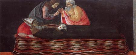 Sandro Botticelli - Dem hl. Ignatius wird das Herz entnommen