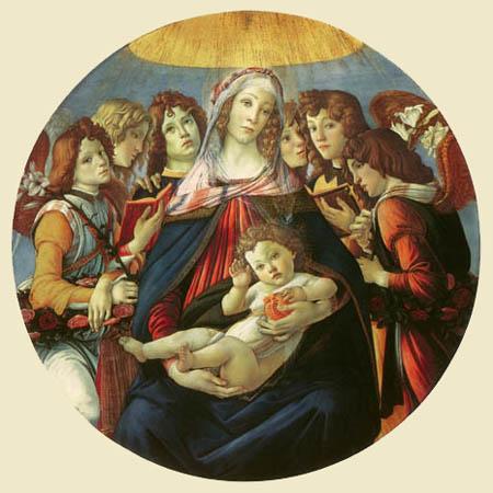 Sandro Botticelli - Madonna della Melagrana