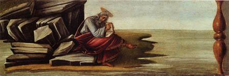 Sandro Botticelli - Johannes auf Patmos