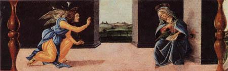 Sandro Botticelli - Verkündigung