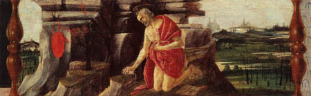 Sandro Botticelli - The Penitent Saint Jerome