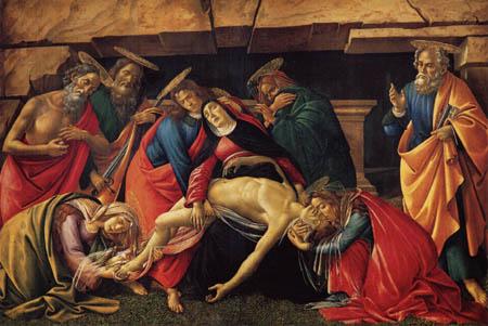 Sandro Botticelli - Piety
