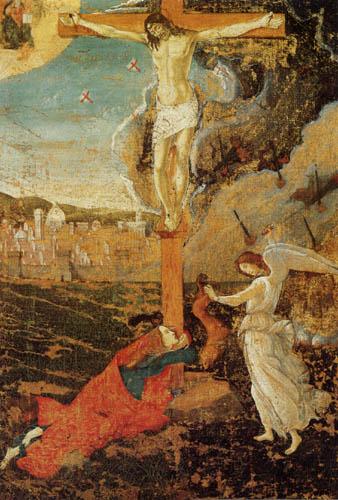 Sandro Botticelli - Kreuzigung