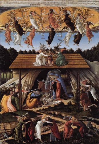 Sandro Botticelli - Mystische Geburt