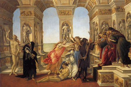 Sandro Botticelli - The defamation of Apelles