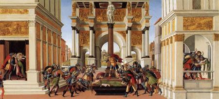 Sandro Botticelli - Die Geschichte der Lucretia