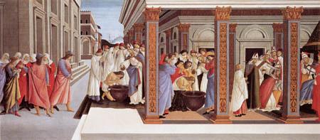 Sandro Botticelli - Jugend und erstes Wunder des hl. Zenobius