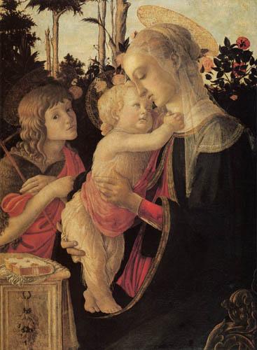 Sandro Botticelli - Maria mit Jesuskind