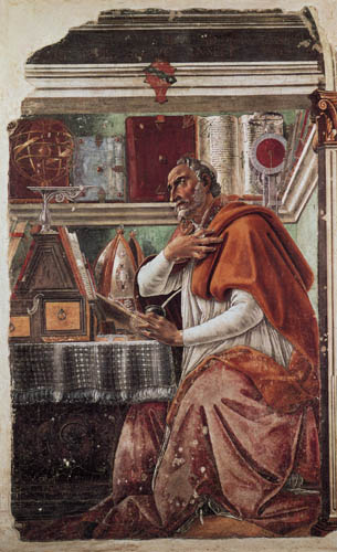 Sandro Botticelli - Saint Augustine