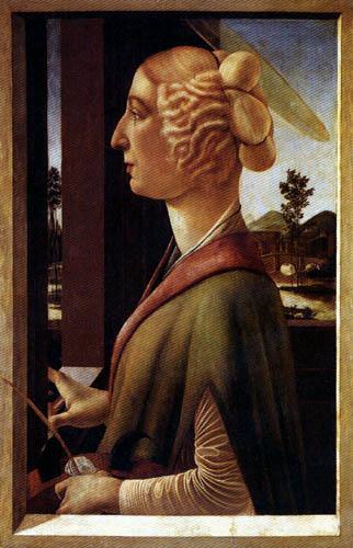 Sandro Botticelli - La Santa Katarina