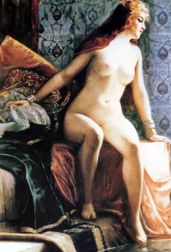 Paul Louis Bouchard - Woman in the Harem