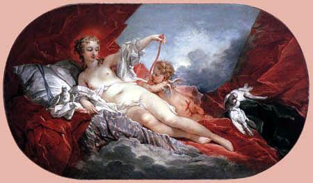 François Boucher - Venus and Cupid