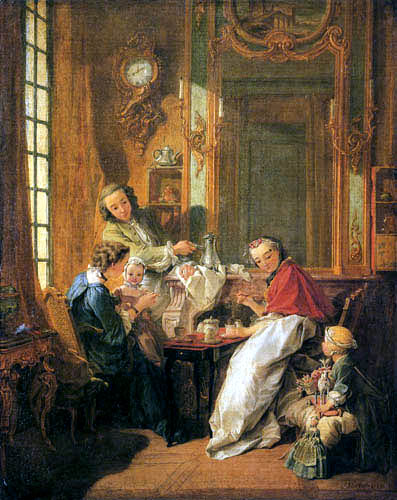 François Boucher - The meal