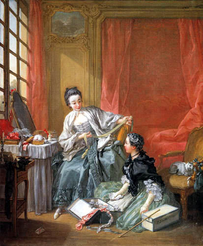 François Boucher - The fashion chandler