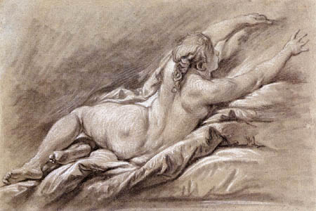 François Boucher - Lying Nude