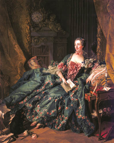 François Boucher - Marquise de Pompadour