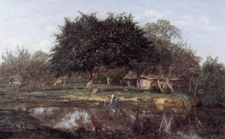 Eugene Boudin - Pear-tree