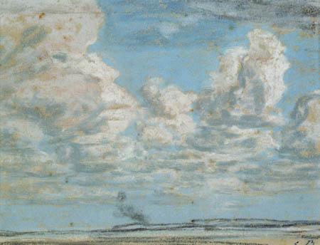Eugene Boudin - Clouds