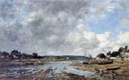 Eugene Boudin - Port