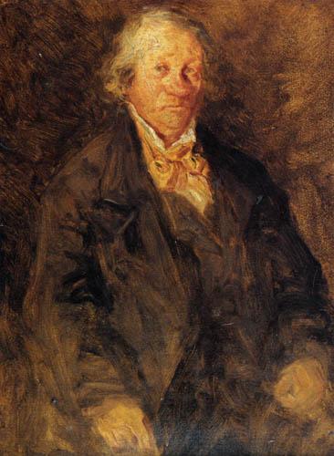 Eugene Boudin - Portrait of Leonard Sebastien Boudin