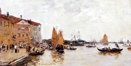 Eugene Boudin - Venice