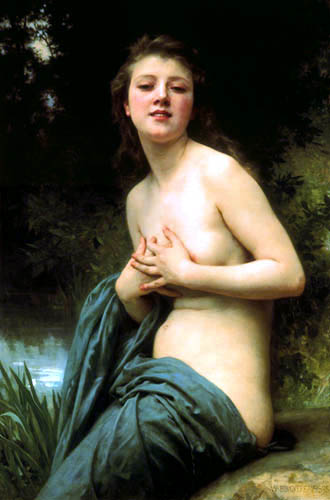 Adolphe William Bouguereau - Spring