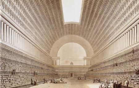 Étienne-Louis Boullée - Projekt für eine Bibliothek