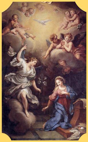 Louis de Boullogne - The Annunciation