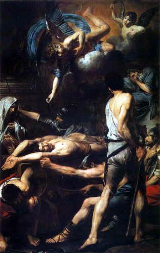 Valentin de Boulogne - The Martyrdom