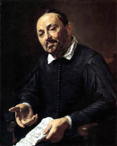 Valentin de Boulogne - Bildnis des Raffaello Menicucci