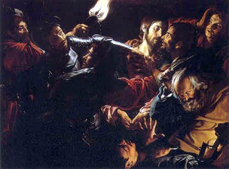 Valentin de Boulogne - Die Gefangennahme Christi