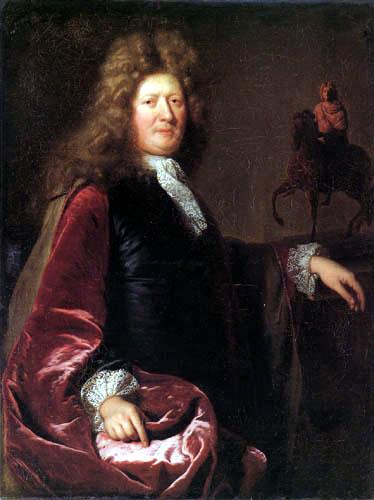 André Bouys - Portrait of Étienne Le Hongre