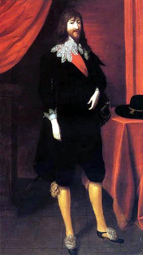 Edward Bower - Porträt Edward Bouchier