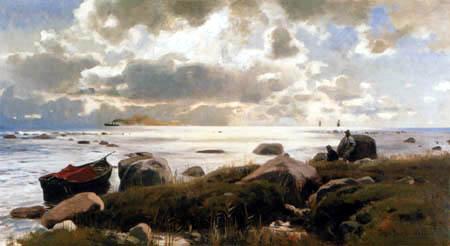 Eugen Bracht - On the Coast of Rügen