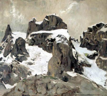 Eugen Bracht - Les trois tours