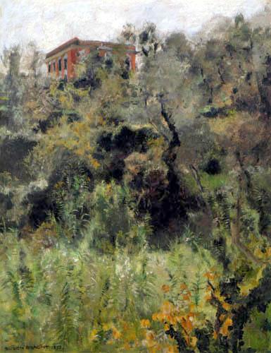 Eugen Bracht - Die rote Villa