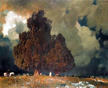 Eugen Bracht - La tombe d'Hannibal