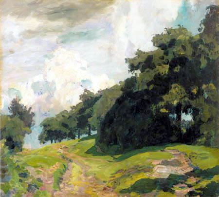 Eugen Bracht - Oberhessische Landschaft